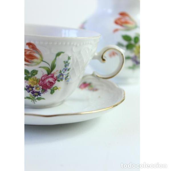 Antigüedades: Antiguo juego de porcelana - Foto 4 - 163082746
