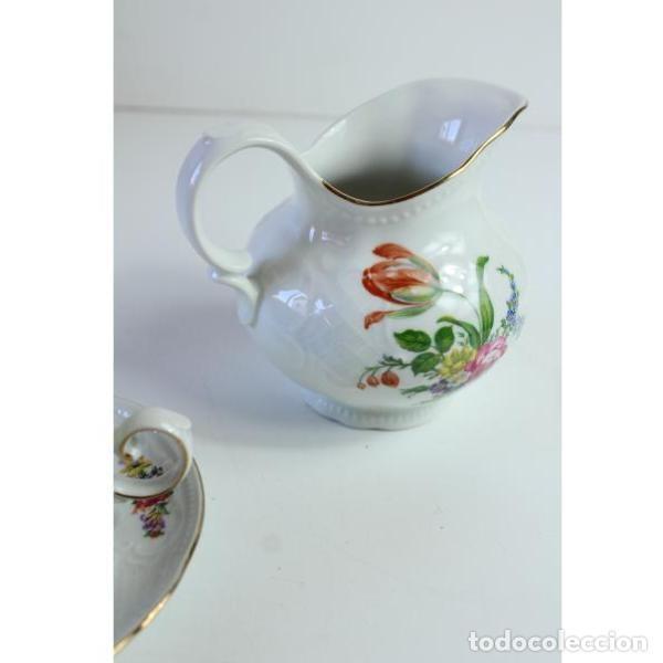 Antigüedades: Antiguo juego de porcelana - Foto 6 - 163082746