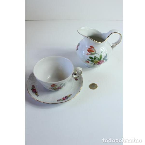 Antigüedades: Antiguo juego de porcelana - Foto 7 - 163082746