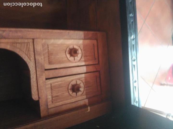 Antigüedades: ANTIGUO BARGUEÑO TALLAS MAGNIFICAS OBRA DE ARTE CAJONES Y LLAVE SGLO XVIII - Foto 19 - 52948120