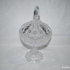 Antigüedades: GRAN BOMBONERA CRISTAL DE BOHEMIA. Lote 163131330