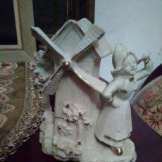 Antigüedades: FIGURA EN BISCUIT ANTIGUA ENUMERADA.. Lote 163133042