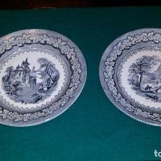 Antiquités: BONITOS PLATOS DE SARGADELOS SIGLO XIX. Lote 163350110