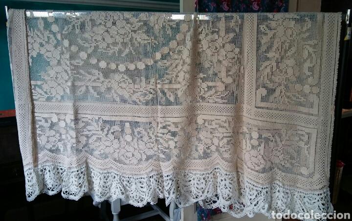 Antigüedades: Mantel o colcha antigua - preciosa !!! 170 x 200 cm - Foto 4 - 163350782
