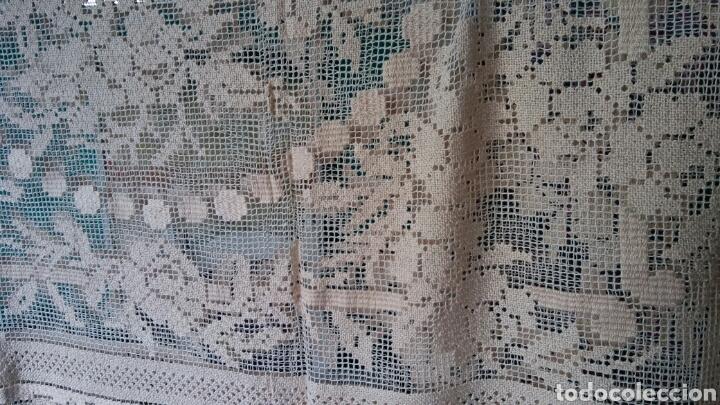 Antigüedades: Mantel o colcha antigua - preciosa !!! 170 x 200 cm - Foto 6 - 163350782