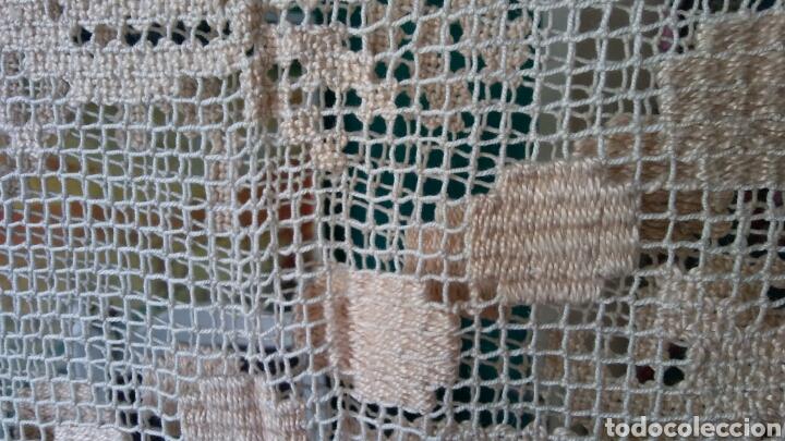 Antigüedades: Mantel o colcha antigua - preciosa !!! 170 x 200 cm - Foto 7 - 163350782