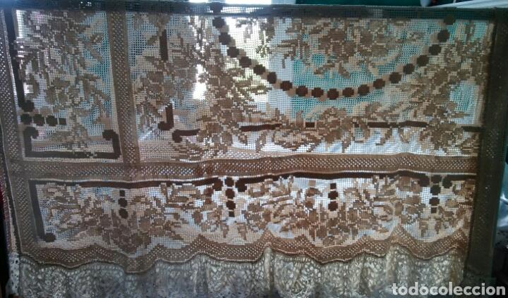 Antigüedades: Mantel o colcha antigua - preciosa !!! 170 x 200 cm - Foto 5 - 163350782