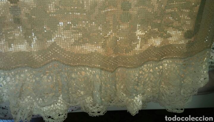 Antigüedades: Mantel o colcha antigua - preciosa !!! 170 x 200 cm - Foto 13 - 163350782