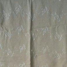 Antigüedades: TROZO DE LINO - 140 × 180 CM. Lote 163354734