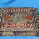 Antigüedades: (M) CAJA DE MADERA RUSTICA DEL PIRINEO ( ARTE POPULAR ) ANTIGUA , 27X19X7 CM.. Lote 163363158