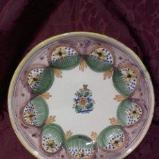 Antigüedades: ANTIGUO PLATO DE RIBESALBES, SIGLO XIX.. Lote 163398737