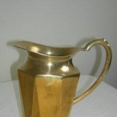 Antigüedades: JARRA DE METAL GRANDE. Lote 163398774