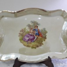 Antigüedades: BANDEJA DE PORCELANA . Lote 163453862