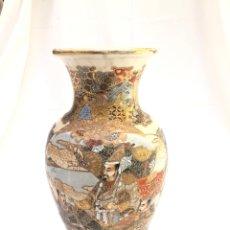 Antigüedades: JARRON DE SATSUMA SIGLO XIX, 40 CM. Lote 163463122