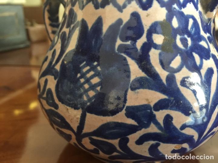 Antigüedades: Azucarero de Olla de fajalauza finales del siglo XIX - Foto 9 - 163466428