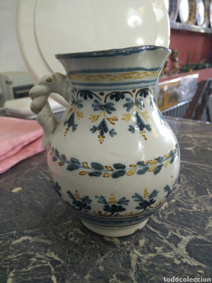 Antigüedades: Jarrita de Talavera - Foto 2 - 163484894