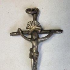 Antiquités: CRUZ EN PLATA DE 52 MMS.. Lote 163499018