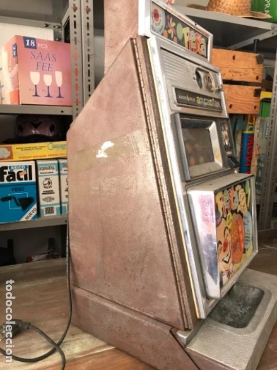 Antigüedades: Tragaperras Aristocrat Arcadian 65 Fiesta Las Vegas. Original años 1950-60s - Foto 9 - 112025175