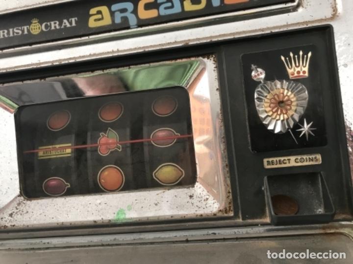 Antigüedades: Tragaperras Aristocrat Arcadian 65 Fiesta Las Vegas. Original años 1950-60s - Foto 7 - 112025175