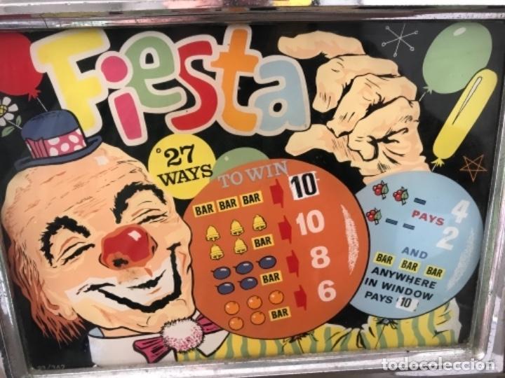 Antigüedades: Tragaperras Aristocrat Arcadian 65 Fiesta Las Vegas. Original años 1950-60s - Foto 8 - 112025175