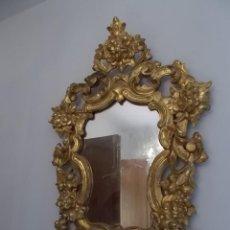 Antigüedades: ANTIGUO ESPEJO CORNUCOPIA ORIGINAL SIGLO XIX. Lote 163569586