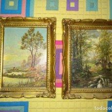Antigüedades: CUADROS ANTIGUOS. Lote 163570782