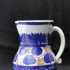 Antigüedades: BONITA JARRA DE PORCELANA DE MANISES.. Lote 163616442