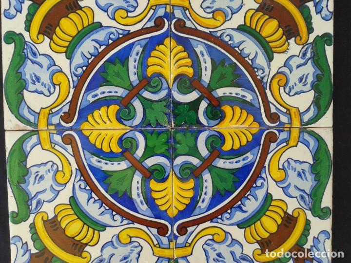 Antigüedades: AZ-40A AZULEJOS MODERNISTAS ANTIGUOS - Foto 2 - 163617346
