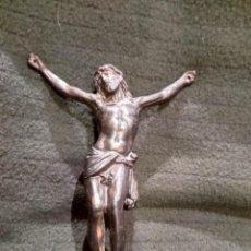 Antigüedades: FIGURA BRONCE CRISTO CRUZ. NUMERADO. N° 13. DE PRINCIPIOS S. XX. Lote 163617490