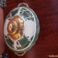 Antigüedades: GRAN SOPERA EN PORCELANA S XIX. Lote 163620278