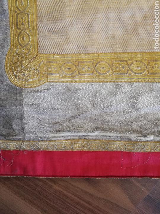 Antigüedades: IMPRESIONANTE DALMATICA SIGLO XIX - Foto 9 - 163628434