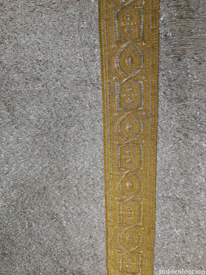Antigüedades: IMPRESIONANTE DALMATICA SIGLO XIX - Foto 6 - 163628434