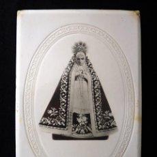 Antigüedades: FOTOGRAFÍA CON SOPORTE DE CARTÓN, NUESTRA SEÑORA DE LOS DOLORES, REQUENA (VALENCIA). CIRCA 1900. Lote 163666010