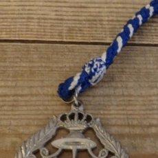 Antigüedades: SEMANA SANTA SEVILLA - MEDALLA CON CORDON DE LA HERMANDAD DE LOS NEGRITOS. Lote 163666778