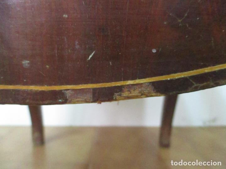 Antigüedades: Antiguo Sillón Isabelino - Madera de Caoba - Ideal Despacho, Decoración - S, XIX - Foto 7 - 163680938