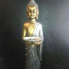 Antigüedades: FIGURA BUDA GRANDE 1'10M. Lote 163696358