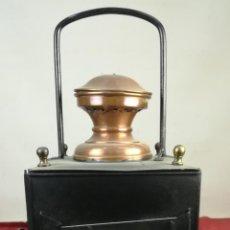 Antigüedades: MARQUESA DE FURGÓN DE JEFE DE TREN. RENFE. SIGLO XIX. ESPAÑA. Lote 163728874