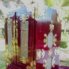 Antigüedades: ANTIGUO JOYERO CHINO DE PIEDRA DE JADE. GRAN TAMAÑO.. Lote 152170293