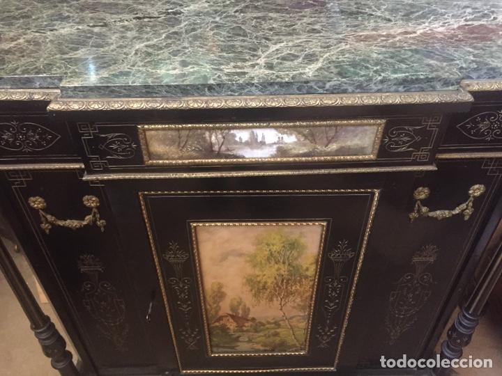 Antigüedades: Mueble estilo imperio (leer descripción) - Foto 15 - 163741942