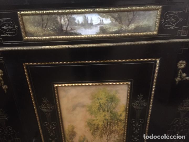 Antigüedades: Mueble estilo imperio (leer descripción) - Foto 16 - 163741942