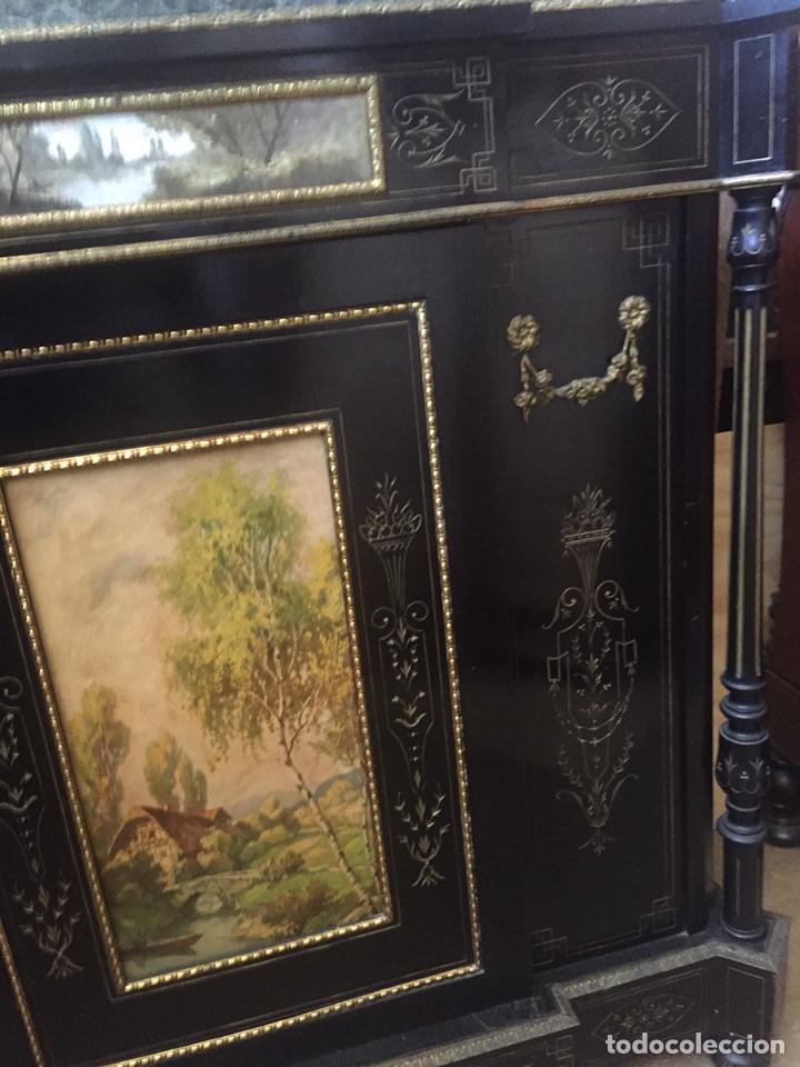 Antigüedades: Mueble estilo imperio (leer descripción) - Foto 21 - 163741942