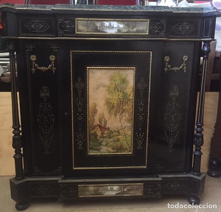 Antigüedades: Mueble estilo imperio (leer descripción) - Foto 22 - 163741942