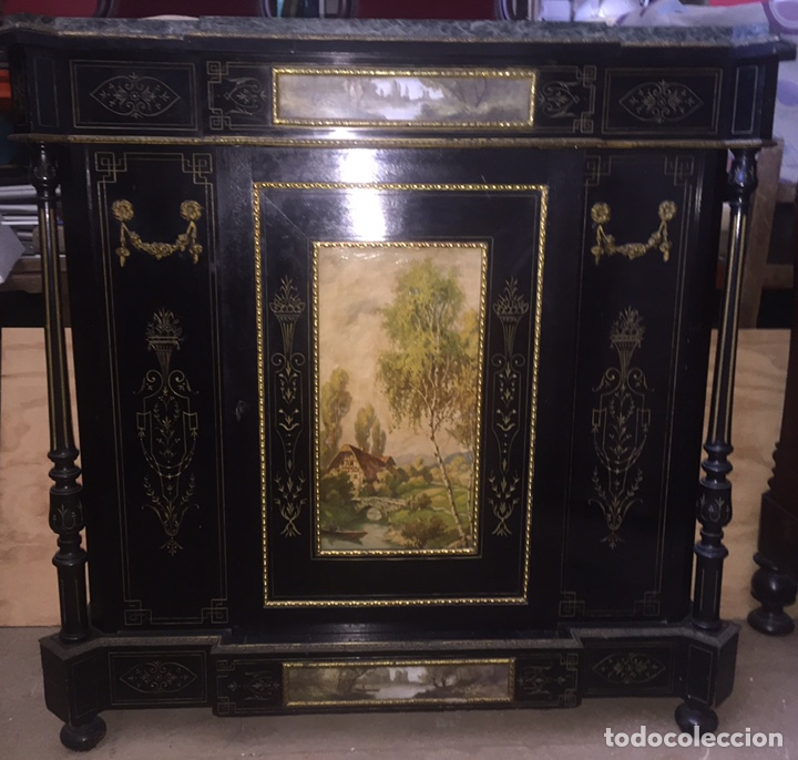 Antigüedades: Mueble estilo imperio (leer descripción) - Foto 24 - 163741942