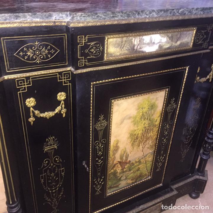 Antigüedades: Mueble estilo imperio (leer descripción) - Foto 25 - 163741942