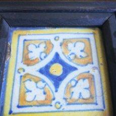 Antigüedades: BALDOSA O BALDOSIN. CALCULO QUE SIGLO XVII, SIN SEGURIDAD.. Lote 163759190