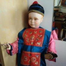Antigüedades: ANTIGUA VESTIMENTA DE NIÑO CHINA ORIGINAL DEL SIGLO XIX - EXCEPCIONAL.. Lote 163765334