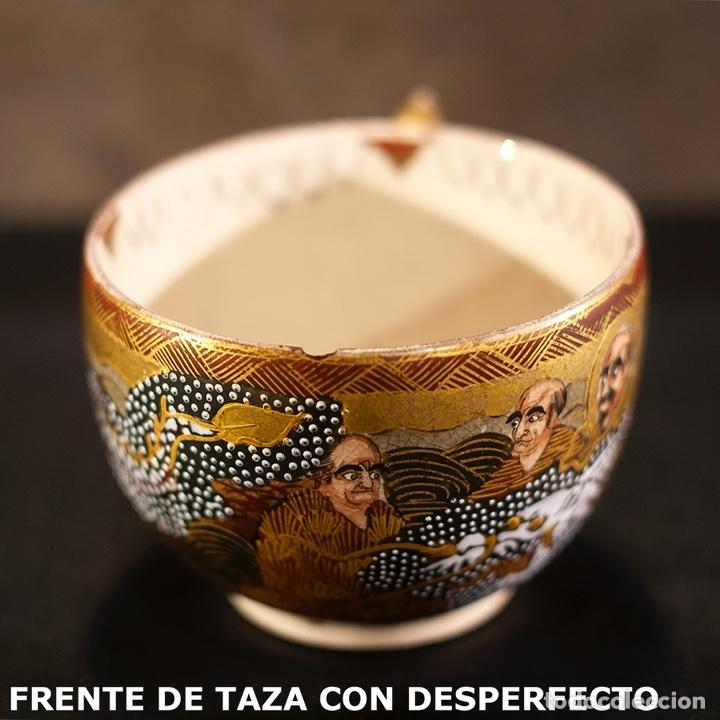 Antigüedades: Porcelana japonesa Satsuma /Japanese Satsuma porcelain - Foto 23 - 163272278