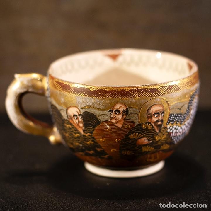 Antigüedades: Porcelana japonesa Satsuma /Japanese Satsuma porcelain - Foto 22 - 163272278
