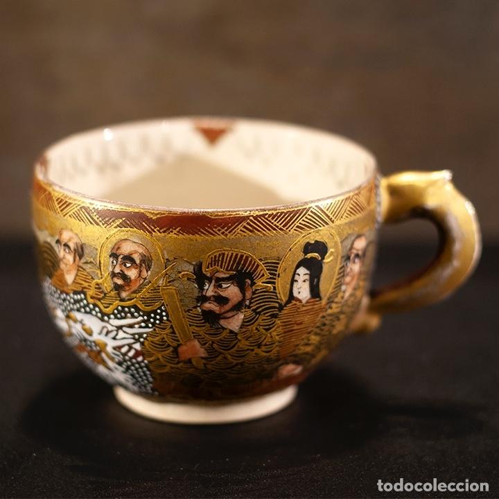 Antigüedades: Porcelana japonesa Satsuma /Japanese Satsuma porcelain - Foto 24 - 163272278