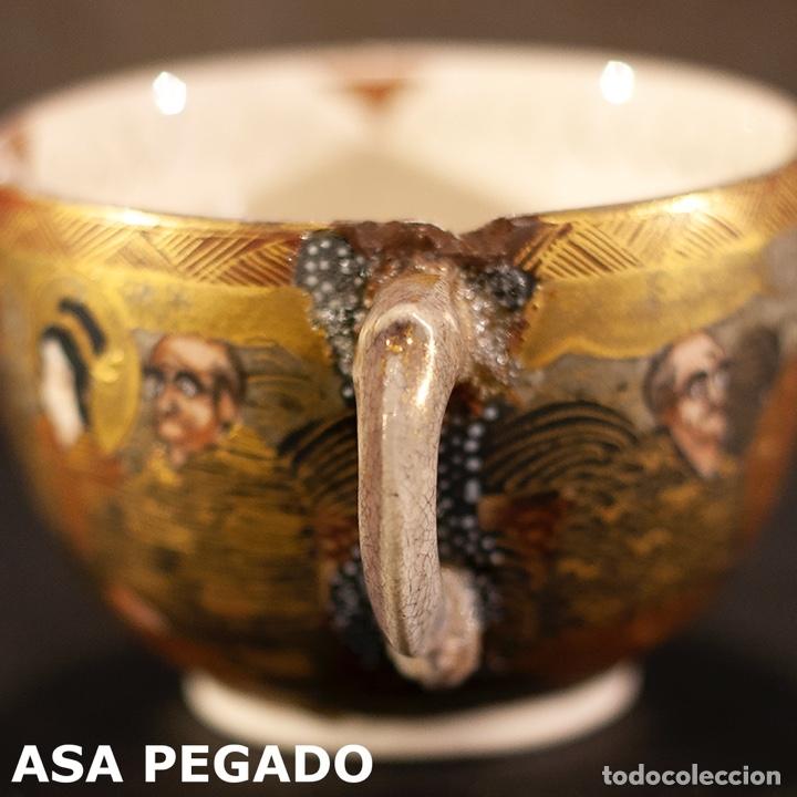 Antigüedades: Porcelana japonesa Satsuma /Japanese Satsuma porcelain - Foto 32 - 163272278